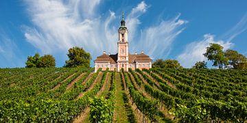 De bedevaartskerk van Birnau aan de Bodensee van Thomas Klee