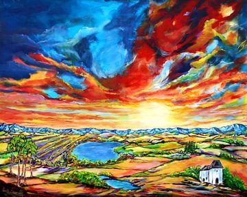 Summertime van Eberhard Schmidt-Dranske