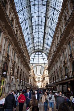 Galleria Vittorio Emanuele II, Milaan, Italie van Kees van Dun
