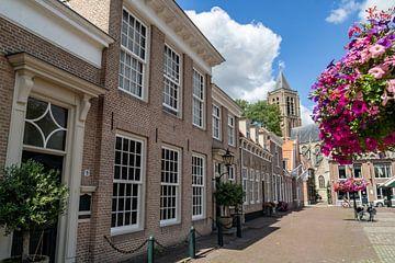 THOLEN: Marktplein Zeeuwse stadje Tholen van Paul Veen