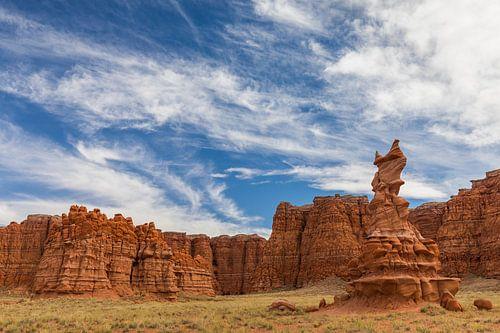 Painted desert, Navajo Nation, Northern Arizona van Henk Meijer Photography