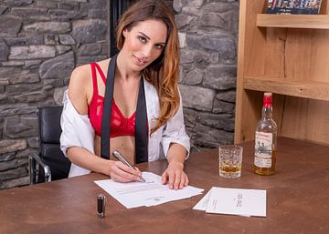 Signed, Louisa Bracq van Berend Groeneveld