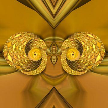 Fantasierijke abstracte twirlillustratie 106/20 van PICTURES MAKE MOMENTS