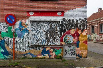 Ghost Town Purpose (Antwerpen): Open-Air-Kunstwerk von Martijn Mureau