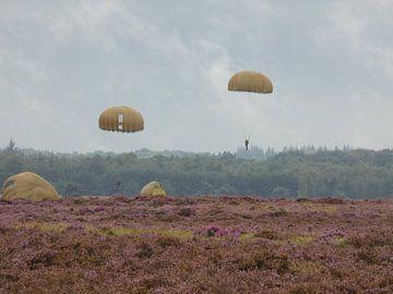 Airborne landings in Arnhem on the Ginkelse Heide van