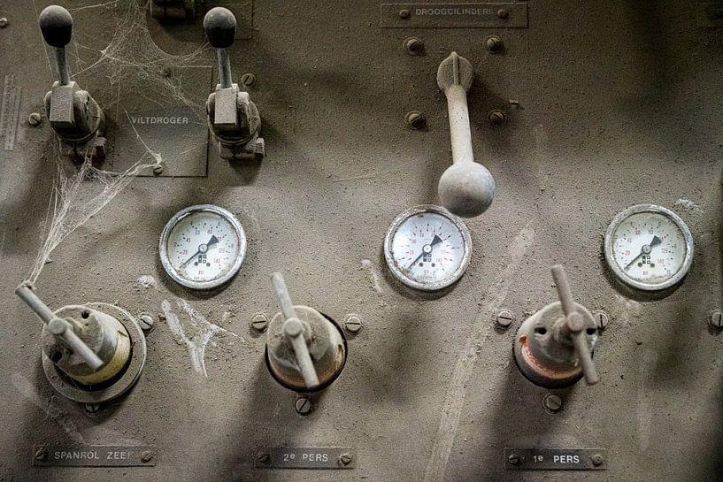 Strokartonmachine van Jan Peter Mulder