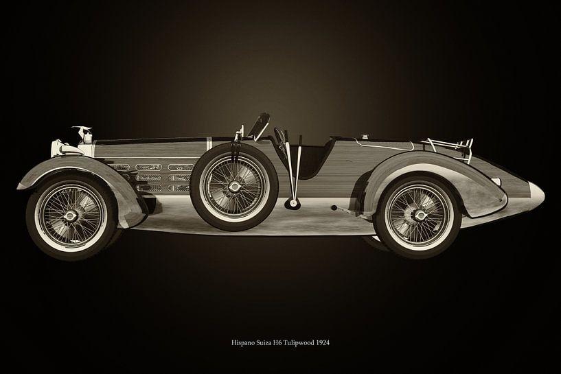 Hispano Suiza H6 van Jan Keteleer