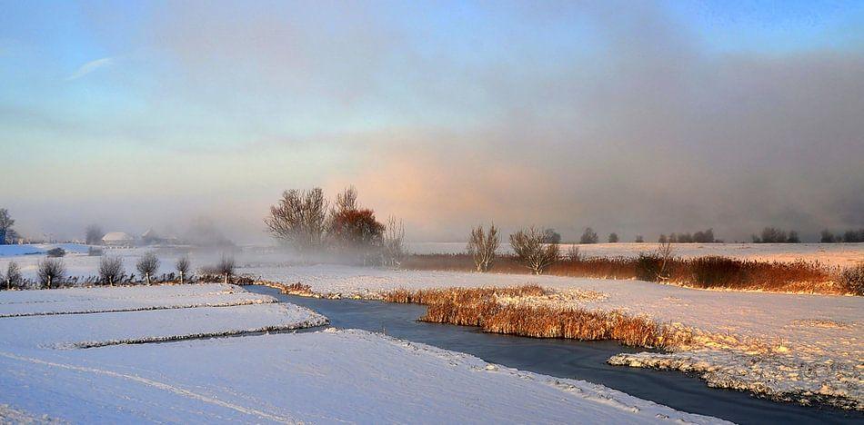 Winter in Nederland.