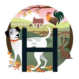Der Hund und der Hase von Hannahland .