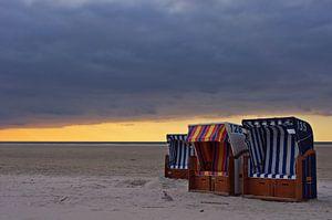 Abends am Strand