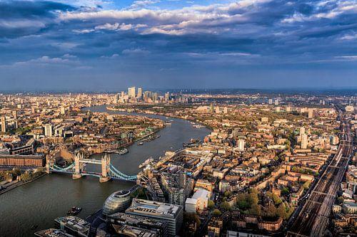 Londen vanuit The Shard von Roy Poots