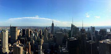 New York Skyline van Marek Bednarek