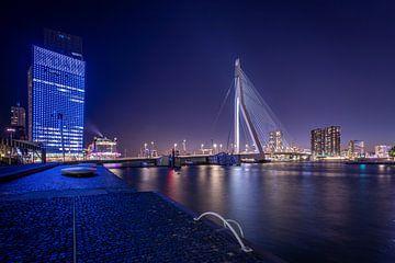 Erasmusbrug - Rotterdam van Fotografie Ploeg