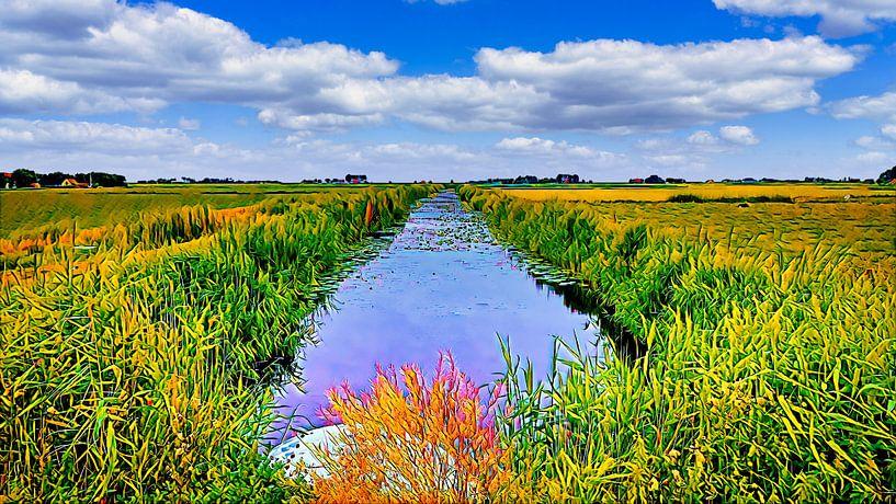 Die Lytse-Angst in Friesland von Digital Art Nederland