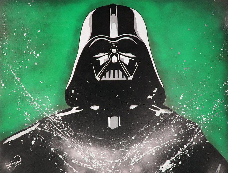 Darth Vader - Star Wars van Kathleen Artist Fine Art