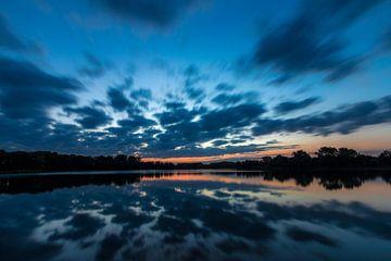 Heure bleue Weegje sur Leo Kramp Fotografie