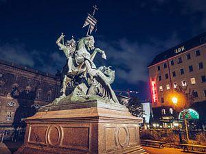 Berlin – Nicholas' Quarter / Saint George Statue