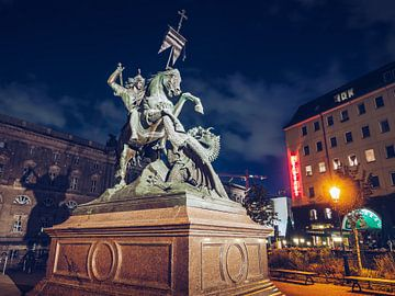 Berlin – Nicholas' Quarter / Saint George Statue sur Alexander Voss