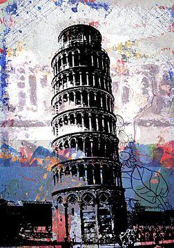 Toren van Pisa van PictureWork - Digital artist