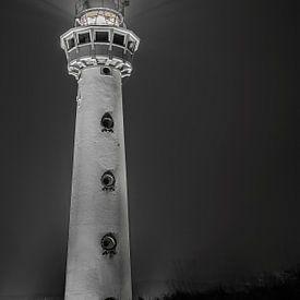Vuurtoren Egmond aan Zee van Iwan Bronkhorst