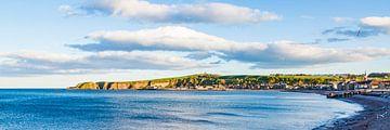 Cityscape of Stonehaven in Scotland van