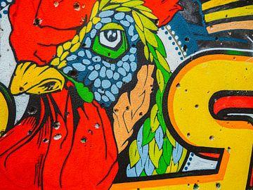 Street Art Mostar Bosnië van Gerko Slotboom