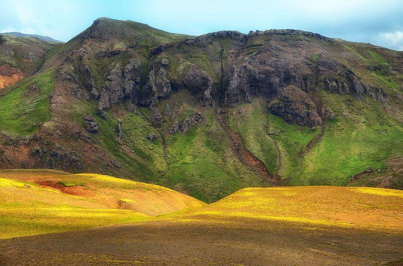 Contrastes de l'Islande sur Iris Heuer