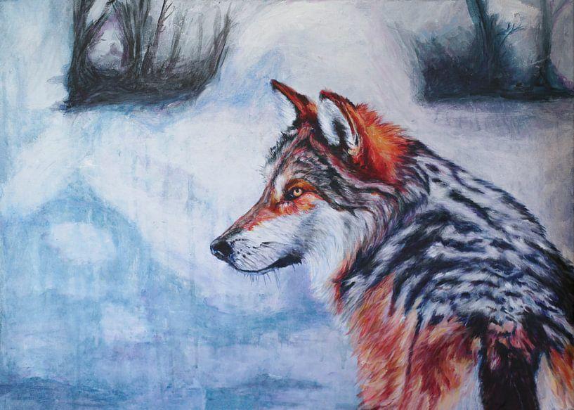 De Wijze Wolf van Simon Dokman