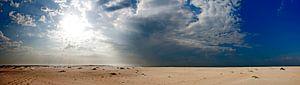 Panorama Horsplaat Texel van