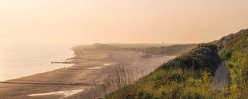 Zomers panorama Zoutelande van Thom Brouwer