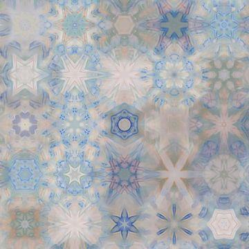 Sneeuwvlokken IV van Maurice Dawson
