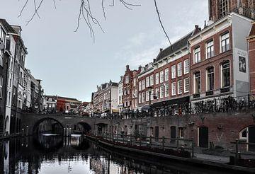 Grachtenpanden in Utrecht van