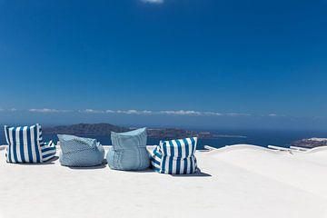 Relax - Santorini von Dennis Eckert