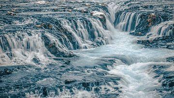 Bruarfoss Waterfall - Iceland von Gerald Emming