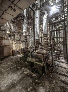 Fabrik-Pumpenhaus von Olivier Van Cauwelaert