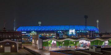 Feyenoord Rotterdam stadion De Kuip at Night - 20 van