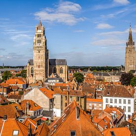 Das Stadtbild  von Brugge von MS Fotografie | Marc van der Stelt