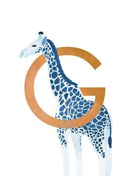 G - Giraffe von Goed Blauw