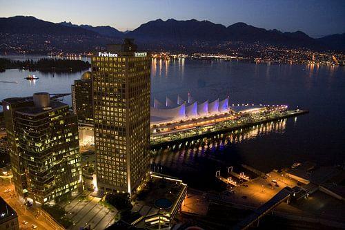 Skyline of Vancouver  van