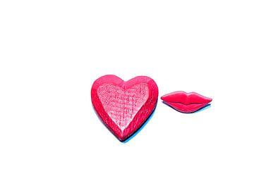 De liefde, een kus = U! van