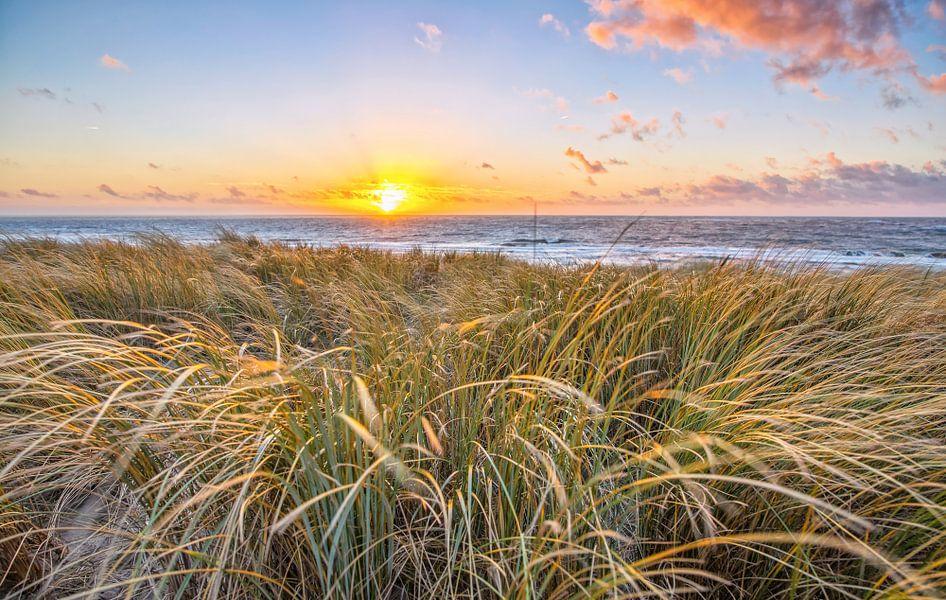Zonsondergang op Texel / Texel Sunset sur Justin Sinner Pictures ( Fotograaf op Texel)