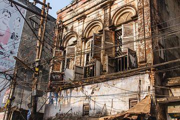 Abgelaufener Besitz in Old Dhaka, Bangladesch von Juriaan Wossink