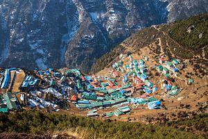 Namche Bazaar, Sagarmatha National Park, Nepal