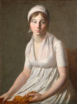 Porträt einer jungen Frau, Jacques-Louis David
