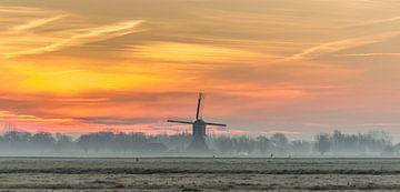 Sonnenaufgang in der Mühle! von Rossum-Fotografie
