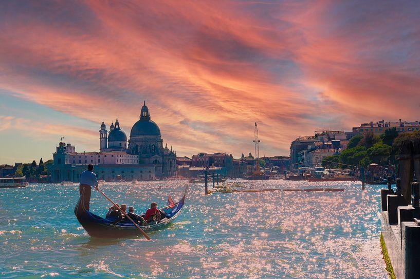 Venetië.(Venice) van Brian Morgan