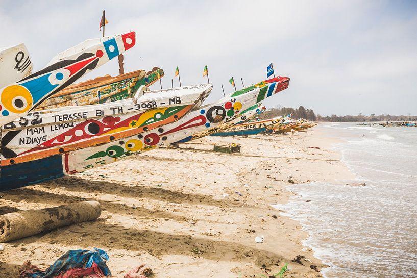 Vissersdorp Gambia van Andy Troy