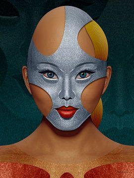 IJzeren Masker van Ton van Hummel (Alias HUVANTO)
