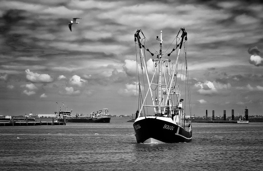 Breskens vissershaven van Ellen Driesse