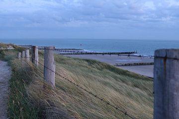 duinen en strand westkapelle van Frans Versteden